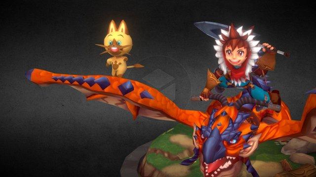 Monster Hunter Stories 3D Model