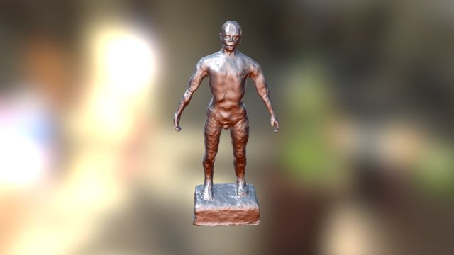 Photoscan-figure-mark2-2-cleaned 3D Model
