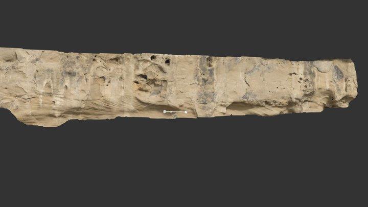 "Historical graffiti, ""... AT RIGBY"" (P3) 3D Model"