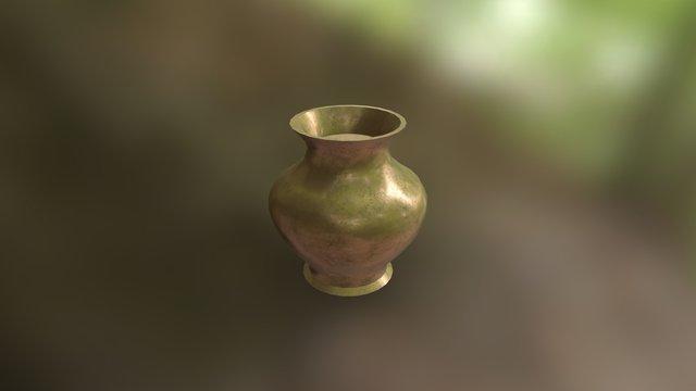 Copper vase 01 3D Model