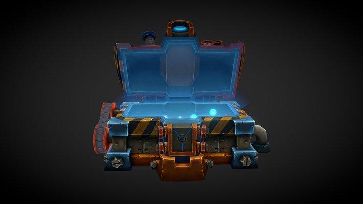 Gnomish Engineering Chest [OPEN] 3D Model