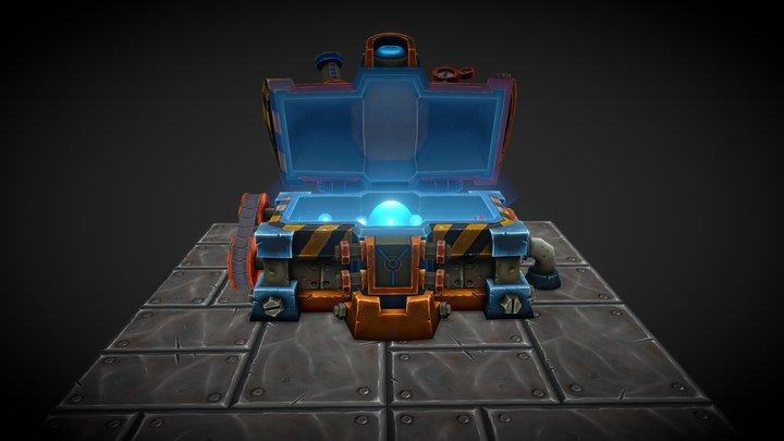 Gnomish Engineering Chest [ANIMATION] 3D Model