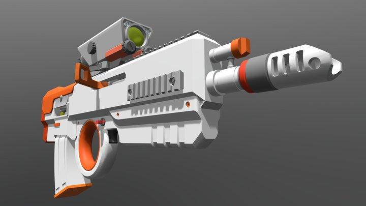 Some Kinda Bullpup 3D Model