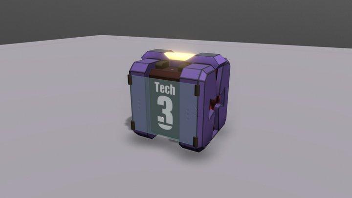 T3 BOX (Azur Lane) 3D Model