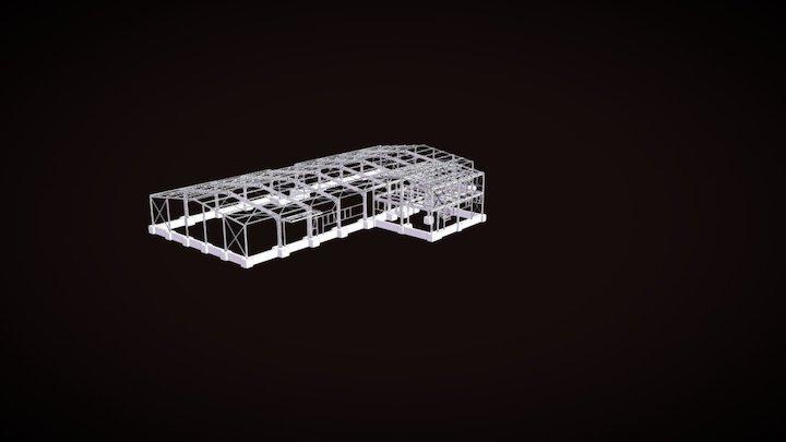 Hala Gabon 3D Model