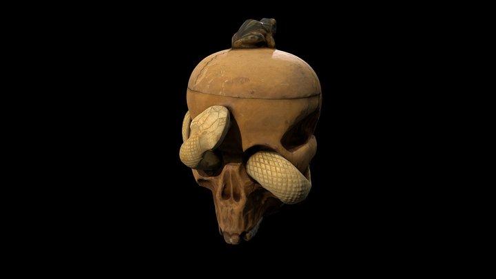 Tobacco jar - Science Museum London 3D Model