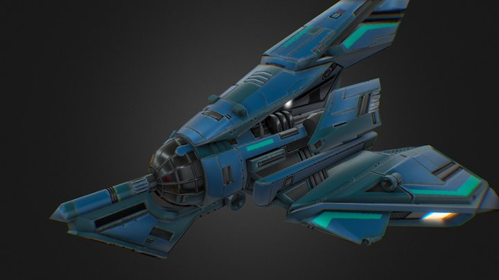 Radogost - spaceship 3D Model
