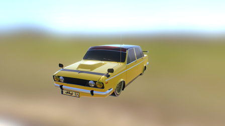 Peykan Sport Version (Takeoff 3 model) 3D Model
