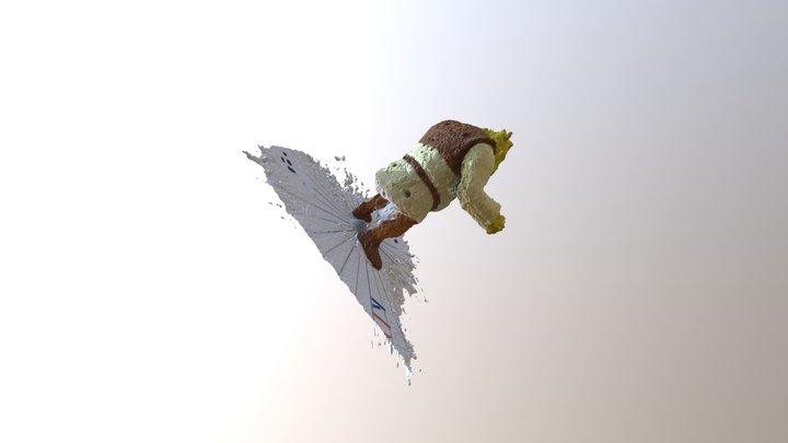 Shrek in 3D  - TAO Schülerforschungszentrum 3D Model
