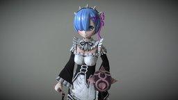 Rem 3D Model