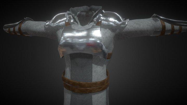The Half Plate Armor 3D Model
