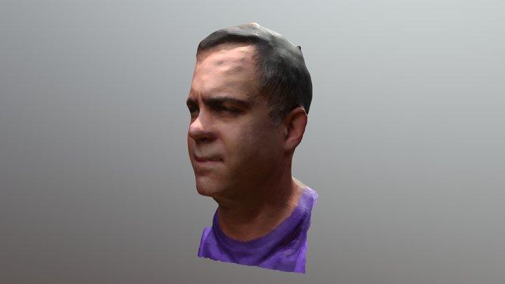 Cabeza de Dani 3D Model
