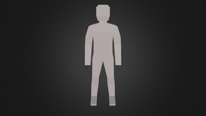 An alternate character for Unturned 3D Model