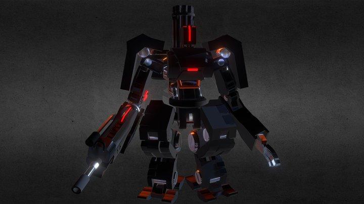 WAROBOT 3D Model