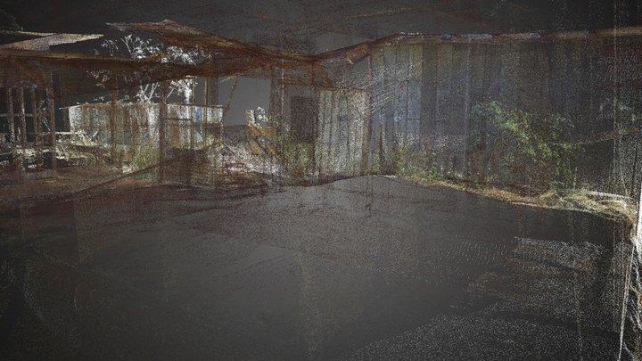 Honouliuli Internment Camp - Fire Station 3D Model