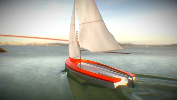 Barco Pampero 3D Model