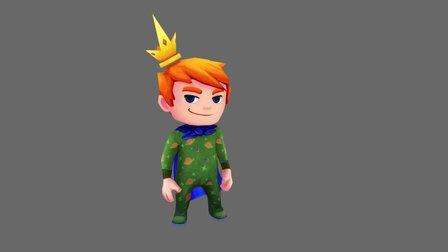 Tiny King 3D Model