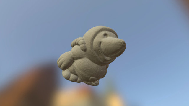 Space Mouse 3D Model