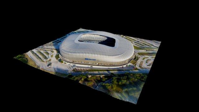 Estadio BBVA Bancomer 3D Model