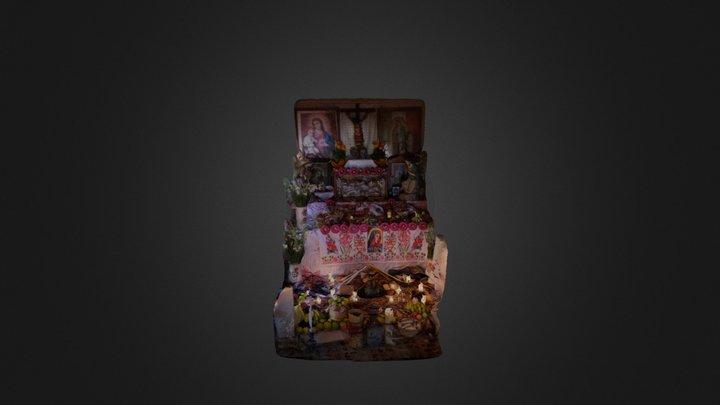 Ofrenda de día de muertos 3D Model