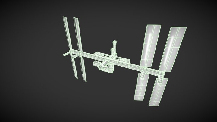 ISS Downloadable Model 3D Model
