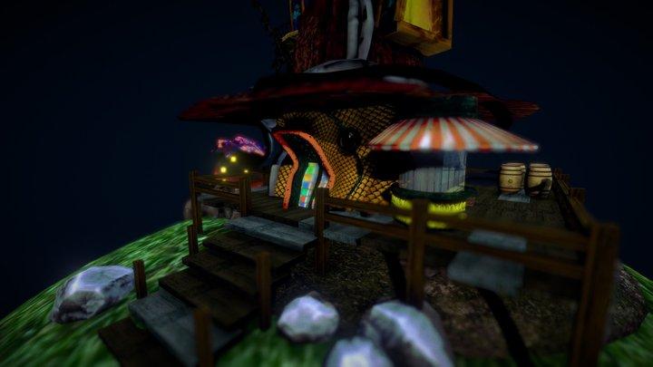 Witch Shop 3D Model