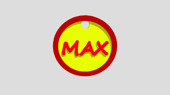 Max Zeton 3D Model