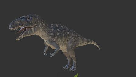 Acrocanthosaur for Witte Museum 3D Model