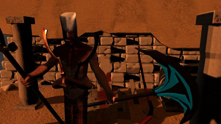 Monster Garden The Guard 3D Model