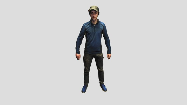 Full body aaron 3D Model
