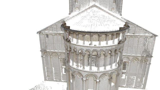 Pisa (point cloud) 3D Model