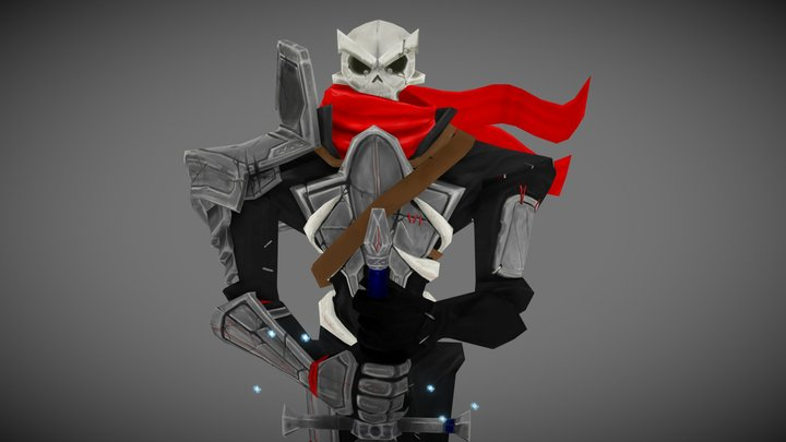 Dread Commander Fred. 3D Model