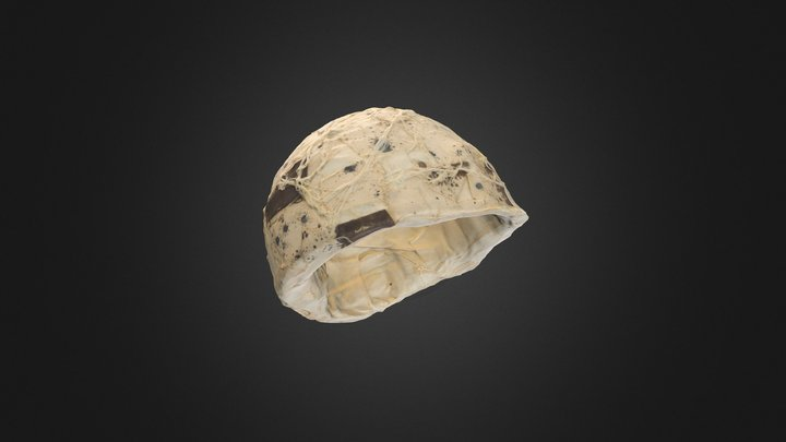 Franko B Helmet 3D Model