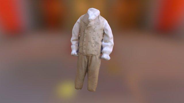 James Monroe Waistcoat and Breeches 3D Model