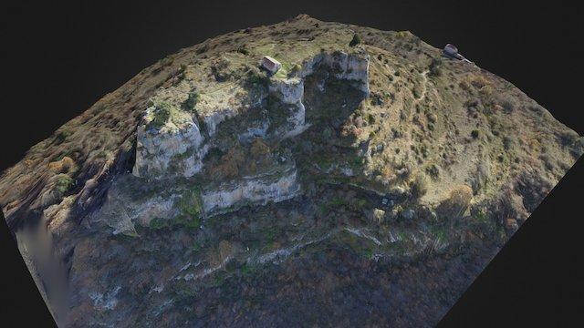 Ermita de las santas Centola y Elena de Siero 3D Model
