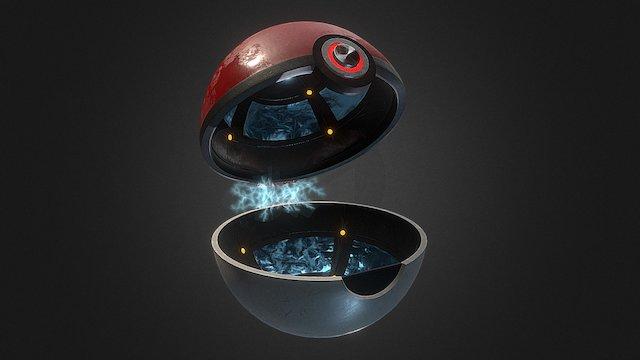 Pokeball Update! 3D Model