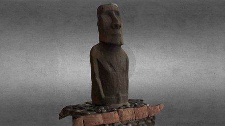 Moai II 3D Model