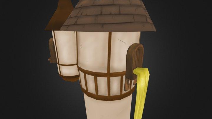 rapunzel toren 3D Model
