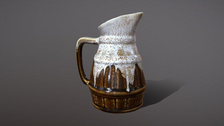 water jug - cruche d'eau 3D Model
