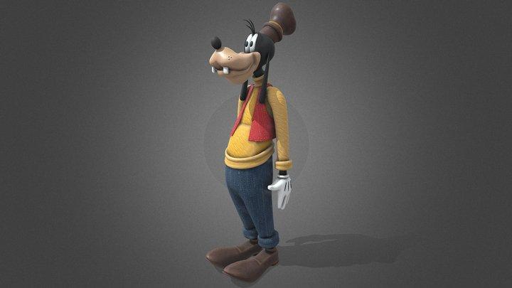 Goofy   Tutorial Included 3D Model