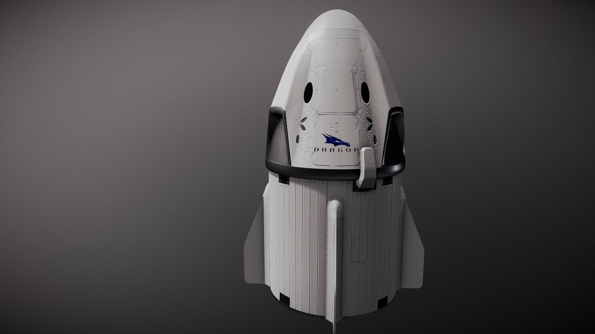 Military Vehicles For Sale >> SpaceX Crew Dragon - 3D model by hiyougami (@hiyougami) [b4189c6] - Sketchfab