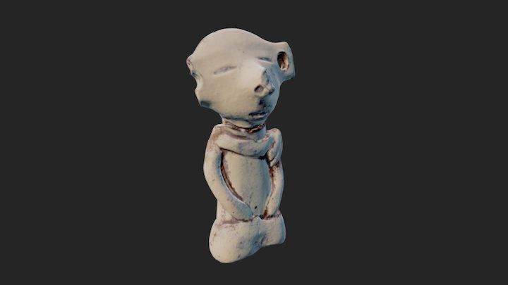Figura  precolombina 3D Model