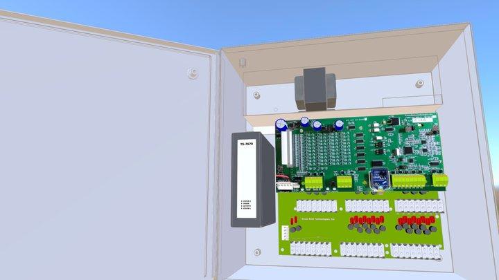 GR EJ12126 Door Open 3D Model