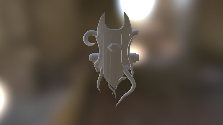 Shield (No text) 3D Model