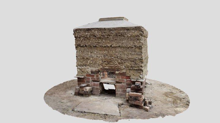 St Andrews Chapel - Earth Lime Kiln 3D Model