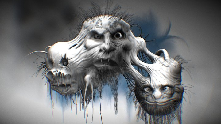 Scary Stories 3 3D Model