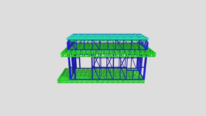 ОСТАНОВКА 3D Model