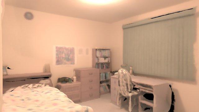 Bedroom B Scan 1 3D Model