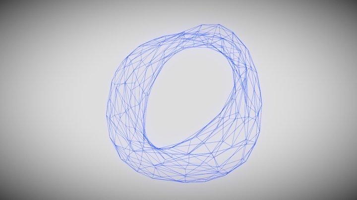 Abstract Torus 3D Model