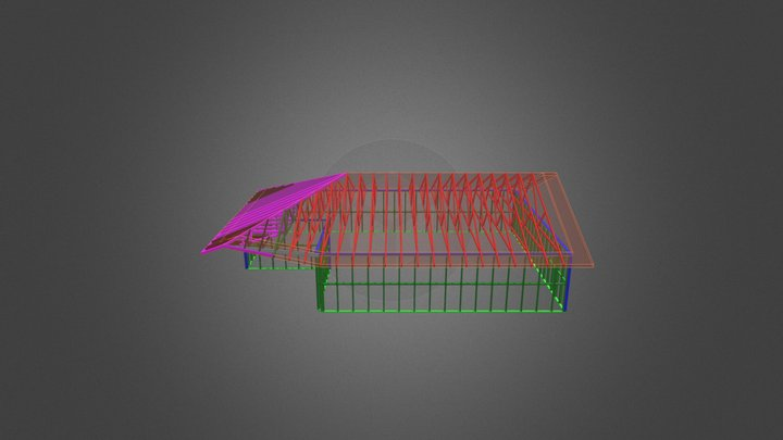 Truss 3D Model